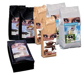 Kaffee Füllprodukte
